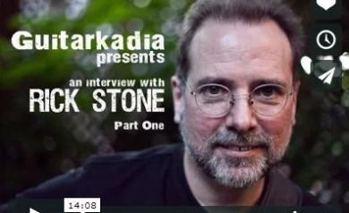 Rick Stone Interviews on Guitarkadia