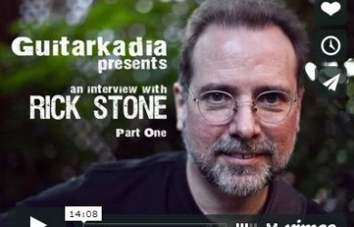 Rick Stone Interviews on Guitarkadia