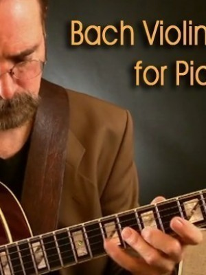 Free Transcription - Bach Partita in Bm for Pick-Style Guitar