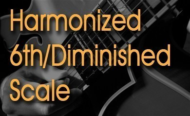 Harmonized 6th-Diminished Scale
